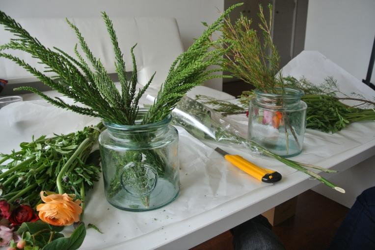 arrangement-greenery